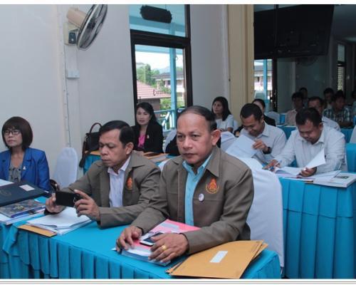 ประชุมเชิงปฏิบัติการเตรียมความพร้อมโรงเรียนคุณภาพประจำตำบล