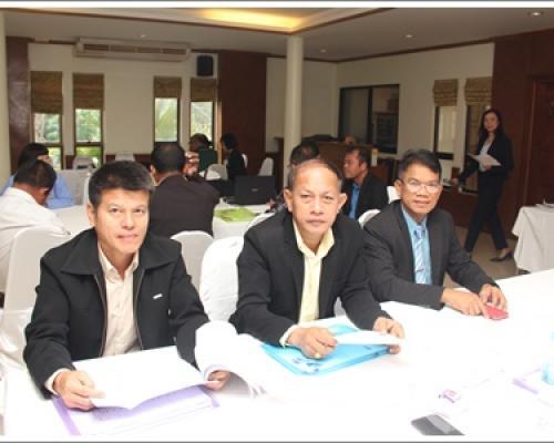 ประชุมปฏิบัติการจัดทำแผนปฏิบัติราชการ 64