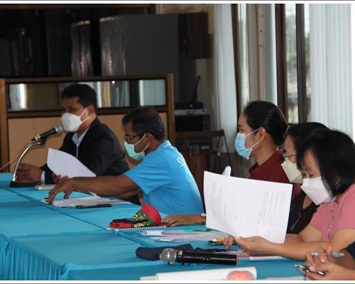 ประชุมการรายงานผลการขับเคลื่อนตัวชี้วัด PMQA